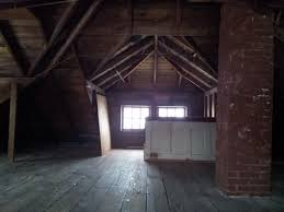 American Craftsman by Foursquare Attic Finished The Attic Comes Complete With Subfloor
