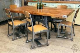 industrial kitchen table furniture industrial style dining room tables kgmcharters