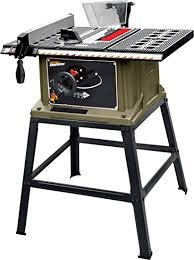 delta 13 10 in table saw shopseries rk7240 1 13 amp 10 table saw with stand power table