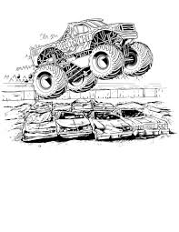 printable 45 monster truck coloring pages 1399 monster truck
