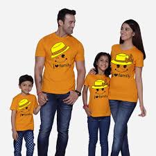 i my family matching family t shirts from pepperclub india