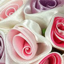 satin ribbon flowers satin ribbon flowers