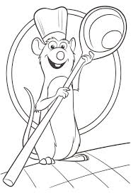 ratatouille coloring pages to download and print for free