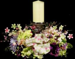 candle arrangements candle arrangement etsy