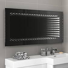 bathroom infinity mirror 1200 x 600 mm illuminated led infinity bathroom mirror with motion