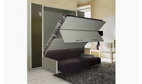 lit avec canapé armoire lit avec canapé intégré d une conception française il