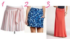 summer skirts six really skirts for summer the budget fashionista