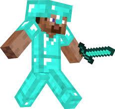 diamond steve steve with diamond armor skin