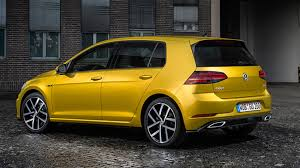 volkswagen thing yellow volkswagen golf 2 0 tdi 150 r line 5dr 2017 review by car magazine