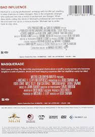 Bad Influence Bad Influence Masquerade Import Amazon Ca Dvd