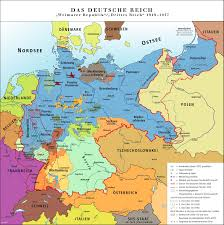 Germany Political Map by Weimar Germany Promise And Tragedy Origins Current Events In