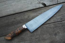 custom kitchen knives gyuto western damascus haburn knives handmade custom
