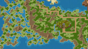 Final Fantasy 2 World Map by Rpg Maker Vx World Map Seven Worlds Youtube