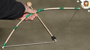 how to make a mini bow and arrow youtube