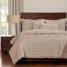 Natori Duvet Tattered Duvet Cover Set With Comforter Insert Bed Bath U0026 Beyond