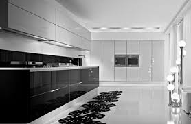 Black White Kitchen Cabinets by Kitchen Wall Cabinets White Gloss Kitchen Design
