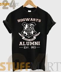 hogwarts alumni t shirt tshirt hogwarts alumni harry potter logo tshirt unisex