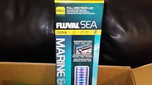 fluval led light 48 ep 8 damsel in the dark unboxing review fluval sea marine