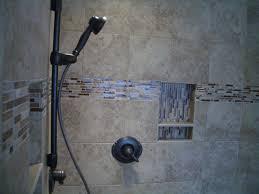 Bathroom Glass Tile Designs Comfortable Master Tile Shower Designs Shower Toger With Shower