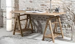 bureau d architecte bureau d architecte en bois massif sur tréteaux