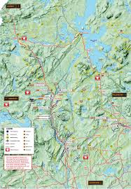 Big Sky Trail Map Atv Trails And Atv Utv Sxs Rentals U0026 Tours In The Forks Maine