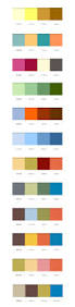 100 two color combinations best 25 color swatches ideas on