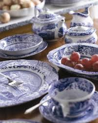 spode blue italian casual dinnerware collection