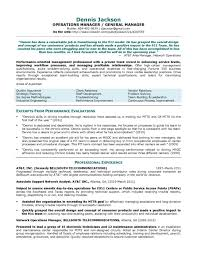 Sample Finance Manager Resume by 100 Resume Sample For Manager Senior Logistic Management