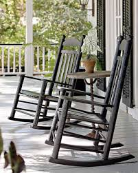 Old Rocking Chair On Porch Home Tours Of Serene Outdoor Spaces Martha Stewart
