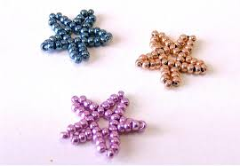 christmas ideas part 3 little star using seed beads youtube