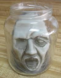 creepy shrunken head i gotta try that