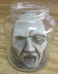 Head In A Jar Halloween Costume by Creepy Shrunken Head I Gotta Try That