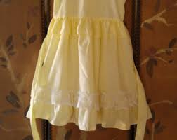 girls yellow dress etsy