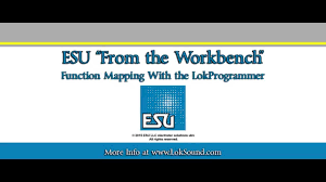 Esu Map Esu Lokprogrammer Function Mapping Youtube