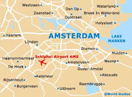 where is amsterdam on a map amsterdam travel guide and tourist information amsterdam
