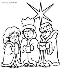 kings color coloring pages kids religious