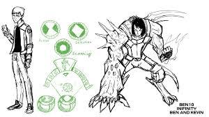 ben 10 infinity sketches 3 ihcomicshq deviantart