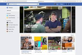 facebook introduces watch its redesigned tab for video