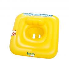 bouée siège pour bébé bouée siège pour bébé swim safe jaune