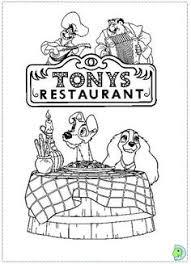 tony u0026 joe lady lady tramp italian table