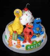 custom cakes by julie sesame street cake