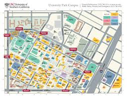 Miami Dade North Campus Map by Map Of Usc Campus My Blog