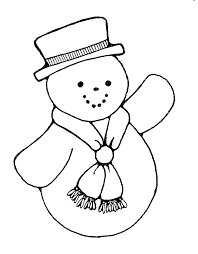 drawn snowman snowflake pencil and in color drawn snowman snowflake