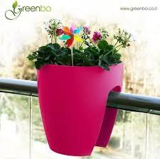 balkon blumentopf greenbo planter balkon pflanzgefäß pink blumentopf günstig