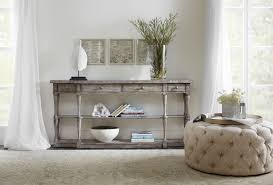 sanctuary 4 drawer console table hooker furniture living room sanctuary four drawer console 5620