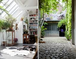 house tour open plan loft filled with plants and sunshine