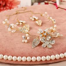 bridal earrings bracelet sets images 4 pieces bridal jewelry sets hair combs necklaces earrings jpg