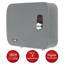 home depot black friday water heater atmor thermopro 18 kw 240 volt 3 7 gpm stainless steel electric