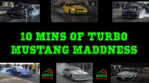 mustang madness 10 mins of turbo mustang madness including boosted gt mike