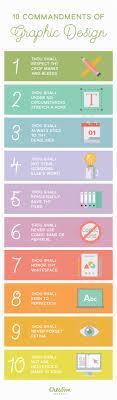 ten resume writing commandments infographic 10 commandments of graphic design creative market
